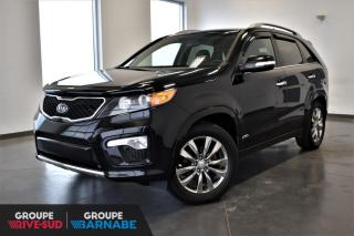 Used 2013 Kia Sorento SX V6 AWD TOIT+CUIR+GPS+7PASSAGERS!!! for sale in St-Jean-Sur-Richelieu, QC