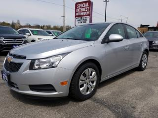 Used 2014 Chevrolet Cruze 1LT BLUE TOOTH !!  CRUISE !!  AUTOMATIC !! for sale in Cambridge, ON