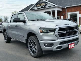 Used 2019 RAM 1500 Sport 4x4, Leather Heated/Vented Seats, Remote Start, NAV, Pano Roof, Tech Pkg, Tow Pkg for sale in Paris, ON