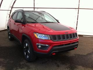 Used 2018 Jeep Compass Trailhawk NAVIGATION, POWER SUNROOF, POWER LIFTGATE, HEATED SEATS/STEERING WHEEL for sale in Ottawa, ON