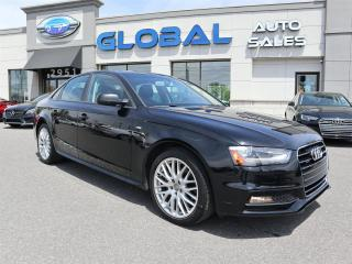 Used 2015 Audi A4 2.0T S-LINE  Sedan quattro Manual for sale in Ottawa, ON