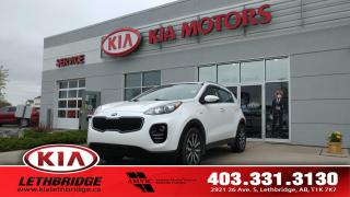 Used 2019 Kia Sportage EX - CLEAN CARFAX - ONE OWNER - UNDER 24,000 KM - AWD - for sale in Lethbridge, AB