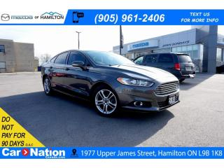 Used 2015 Ford Fusion Hybrid SE | HYBRID | NAV | REAR CAM | SAT RADIO for sale in Hamilton, ON