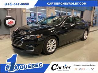 Used 2017 Chevrolet Malibu LT *CAMERA RECUL* BAS MILLAGE* for sale in Québec, QC