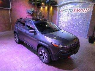 Used 2018 Jeep Cherokee Trailhawk - Pano Roof, Htd & A/C Lthr, R.Start!! for sale in Winnipeg, MB