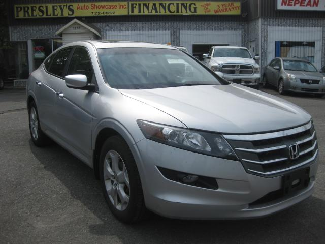 2010 Honda Accord Crosstour EXL AWD AC Sunroof Leather 4WD PL PM PW