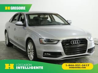 Used 2015 Audi A4 KOMFORT QUATTRO AC for sale in St-Léonard, QC
