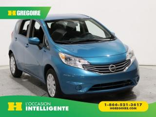 Used 2015 Nissan Versa SV A/C GR ELECT for sale in St-Léonard, QC