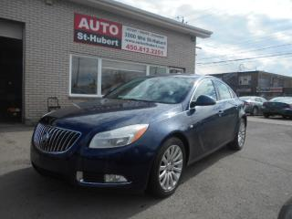 Used 2011 Buick Regal CXL for sale in St-Hubert, QC