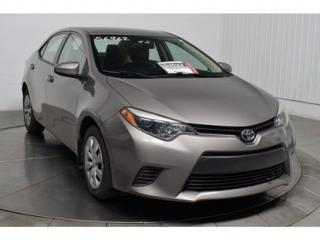Used 2015 Toyota Corolla CE A/C for sale in L'ile-perrot, QC