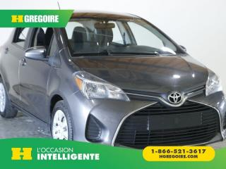 Used 2016 Toyota Yaris LE AC GR ELEC for sale in St-Léonard, QC