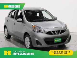 Used 2015 Nissan Micra SV A/C GR ELECT for sale in St-Léonard, QC