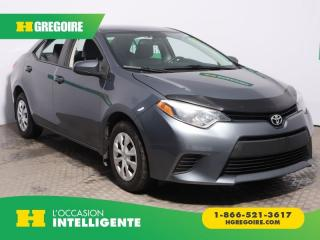 Used 2014 Toyota Corolla LE A/C GR ELECT for sale in St-Léonard, QC