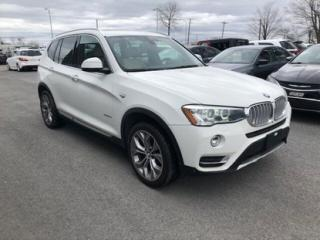 Used 2015 BMW X3 XDRIVE CUIR TOIT PANO for sale in Saint-hubert, QC