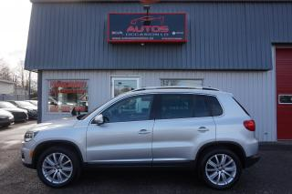 Used 2012 Volkswagen Tiguan HIGHLINE 4MOTION CUIR TOIT BLUETOOTH 103 962 KM for sale in Lévis, QC