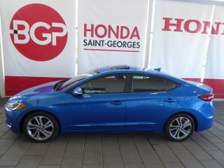 Used 2017 Hyundai Elantra GLS for sale in St-Georges, QC