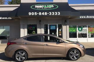 Used 2015 Hyundai Elantra Limited for sale in Mississauga, ON