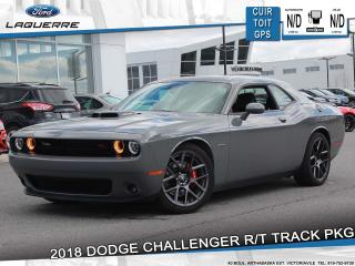 Used 2018 Dodge Challenger R/t Hemi Shaker Cuir for sale in Victoriaville, QC