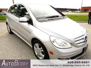 Used 2007 Mercedes-Benz B-Class B200 - Turbo - FWD for sale in Woodbridge, ON