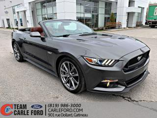 Used 2015 Ford Mustang Ford Mustang GT 2015 PREMIUM, GPS, CUIR for sale in Gatineau, QC