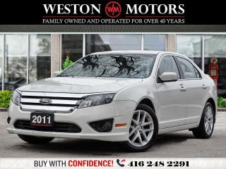 Used 2011 Ford Fusion SEL*BLUETOOTH*POWER GROUP*WOW ONLY 85KM!!* for sale in Toronto, ON
