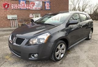 Used 2009 Pontiac Vibe 1.8L/AWD/SAFETY INCLUDED/TOYOTA JOINT VENTURE for sale in Cambridge, ON