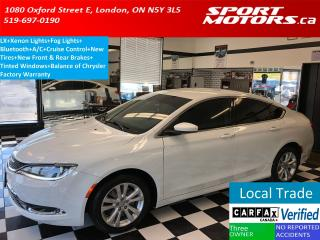 Used 2015 Chrysler 200 Limited+New Tires & Brakes+A/C+Bluetooth+Tinted for sale in London, ON