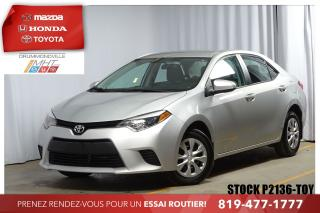 Used 2016 Toyota Corolla Ce A/c Bluetooth for sale in Drummondville, QC