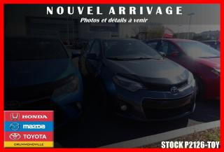 Used 2016 Toyota Corolla S Mags Toit for sale in Drummondville, QC