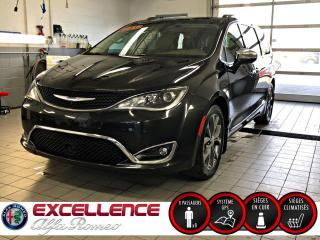 Used 2017 Chrysler Pacifica LIMITED*CUIR/NAV/GROUPE TECH/PORTE ELECT for sale in Laval, QC