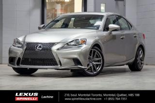 Used 2016 Lexus IS 300 F Sport Ii Awd; Cuir for sale in Lachine, QC