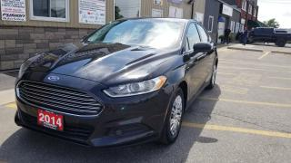 Used 2014 Ford Fusion BLUETOOTH-NEW BRAKES FRONT AND REAR-NICE AND CLEAN for sale in Tilbury, ON