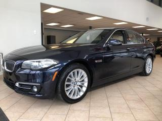 Used 2015 BMW 5 Series 528i xDrive GPS Cuir Toit for sale in Pointe-Aux-Trembles, QC