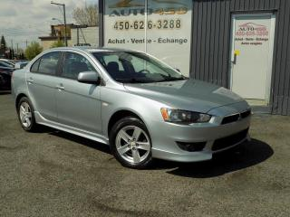 Used 2009 Mitsubishi Lancer ***SE,AUTOMATIQUE,AIR CLIM,GROUPE ELECTR for sale in Longueuil, QC