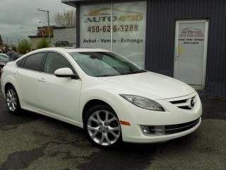 Used 2009 Mazda MAZDA6 ***GT,AUTOMATIQUE,CUIR,TOIT OUVRANT*** for sale in Longueuil, QC