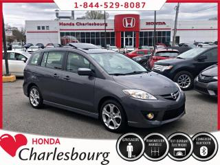 Used 2010 Mazda MAZDA5 GT**TOIT OUVRANT**MANUEL** for sale in Charlesbourg, QC
