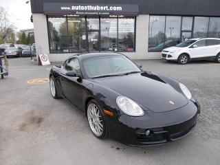 Used 2007 Porsche Cayman CAYMAN S COUPE for sale in St-Hubert, QC