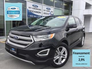 Used 2018 Ford Edge Titanium Awd Cert. for sale in St-Georges, QC