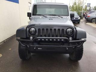 Used 2016 Jeep Wrangler UNLIMITED WILLYS 4X4 for sale in Edmonton, AB