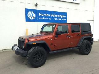 Used 2014 Jeep Wrangler Unlimited SAHARA, WILLYS, MUDDERS for sale in Edmonton, AB