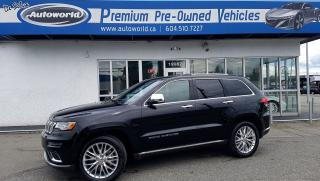 Used 2017 Jeep Grand Cherokee *Summit, Harmon Kardon Audio, 5.7L V8* for sale in Langley, BC