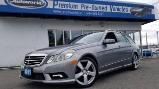 Used 2011 Mercedes-Benz E-Class *Wagon, Low KM, Rare* for sale in Langley, BC