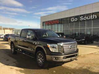 New 2019 Nissan Titan XD Platinum Reserve 4x4 Crew Cab 151.6 in. WB for sale in Edmonton, AB