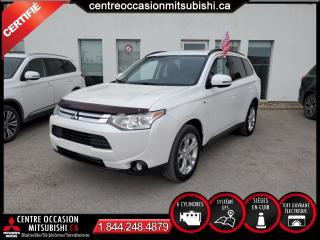 Used 2014 Mitsubishi Outlander GT CUIR + TOIT + NAVIGATION + 4X4 for sale in Blainville, QC