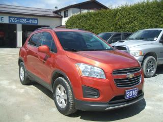 Used 2016 Chevrolet Trax LT , AWD for sale in Beaverton, ON