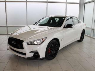 New 2019 Infiniti Q50 I-LINE RED SPORT for sale in Edmonton, AB