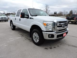 Used 2014 Ford F-250 XLT. Crew. 4X4. 6.2L gas for sale in Gorrie, ON