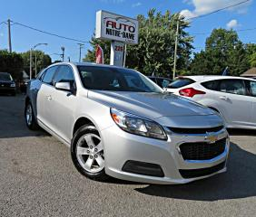 Used 2015 Chevrolet Malibu 1LS BLUETOOTH MAGS A/C for sale in Repentigny, QC