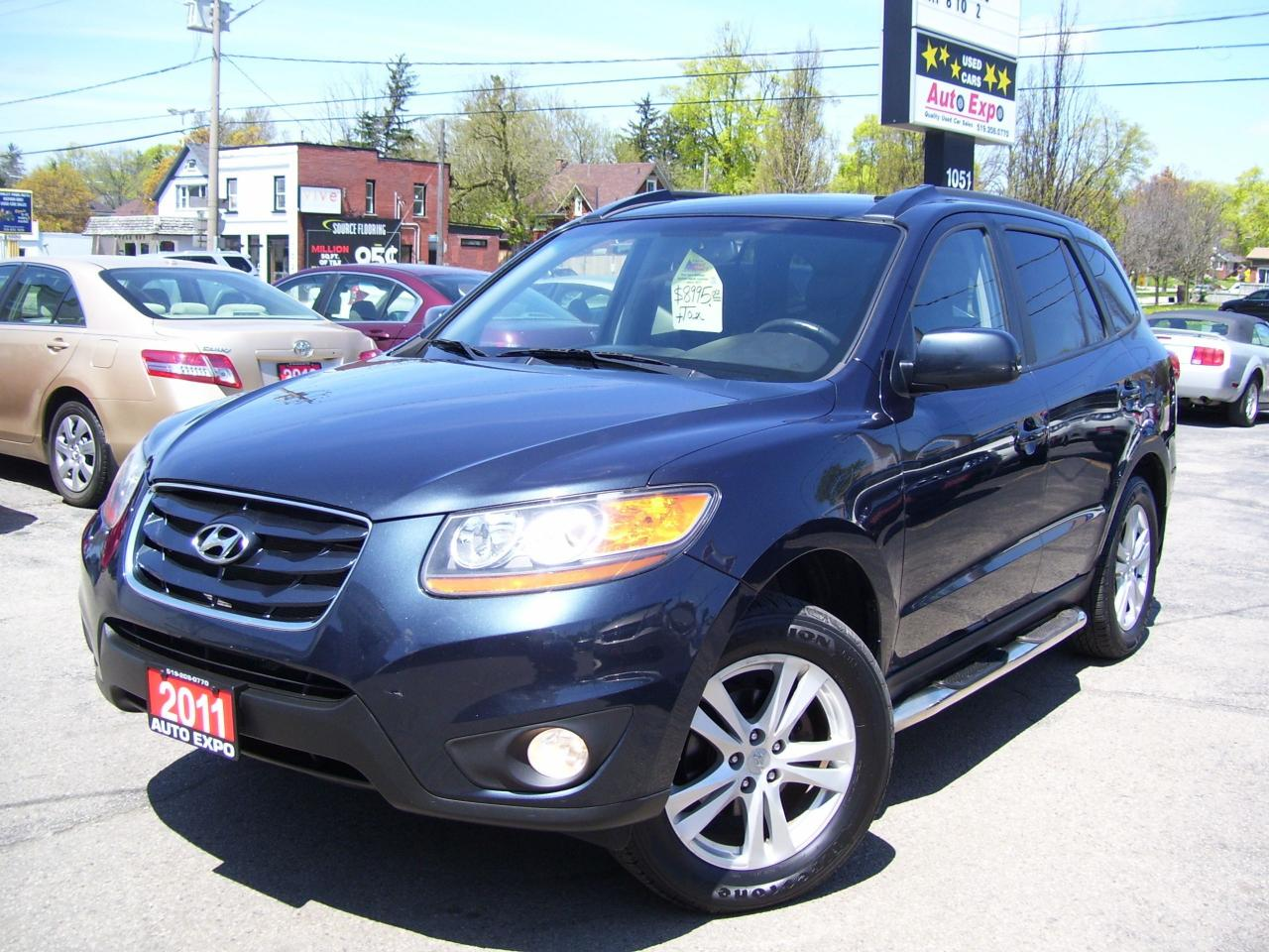 2011 Hyundai Santa Fe GL Sport,AWD,SUNROOF,TINTED,ALLOYS,CERTIFIED,FOGS