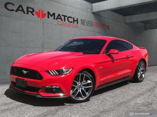 Used 2015 Ford Mustang GT PREMIUM / LEATHER / NAV / NO ACCIDENTS for sale in Cambridge, ON